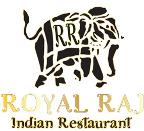 The Royal Raj Indian Restaurant in Winterbourne Bristol Logo